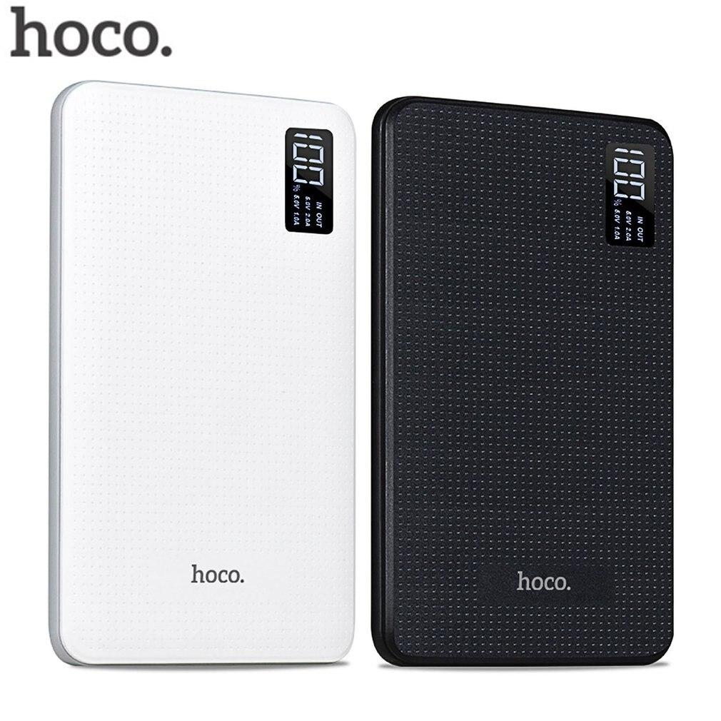 HOCO batterie externe 30000 mAh borne chargeuse portable téléphone rapide Charge USB sortie Batteries externes Pack affichage numérique chargeur Mobile