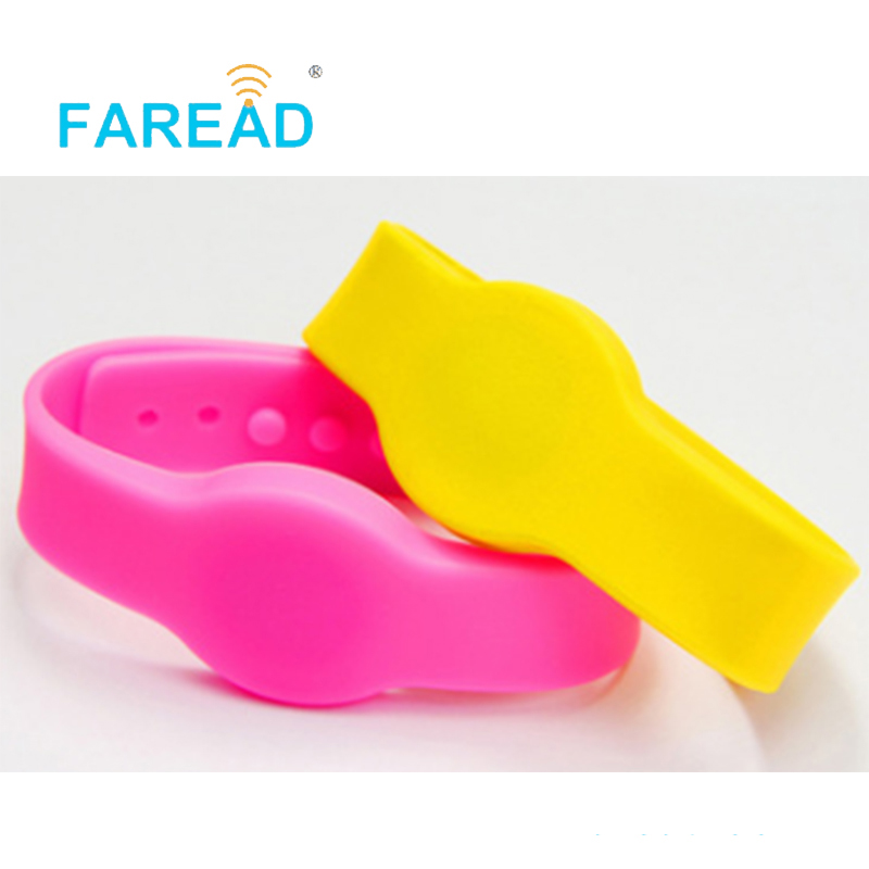 Free Shipping 125khz TK4100 Chip Swimming Pool, Cooling Store, Sauna Bath Center, Supermarket Wristband RFID Bracelet