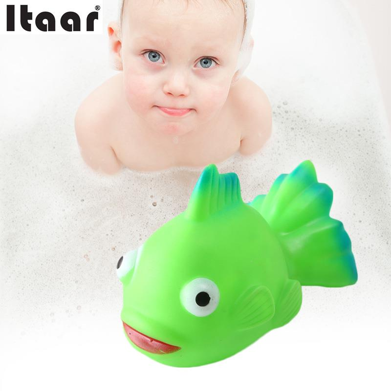 Whale Sound Toys Baby Bath Take Shower Play Vent Funny Squeeze Sea Animal Cute