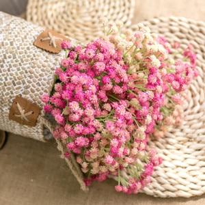 Image 4 - ขนาดเล็กDaisy Camellia Puกาวนุ่มดอกไม้พลาสติกดอกไม้ตกแต่งบ้านงานแต่งงานอุปกรณ์เสริมMiniดอกไม้ปลอมของขวัญ