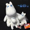 Hipopótamo Moomin grasa muñeca juguetes de peluche lindo Moomin muñecas precioso blanco hipopótamo de peluche juguetes de peluche para el regalo