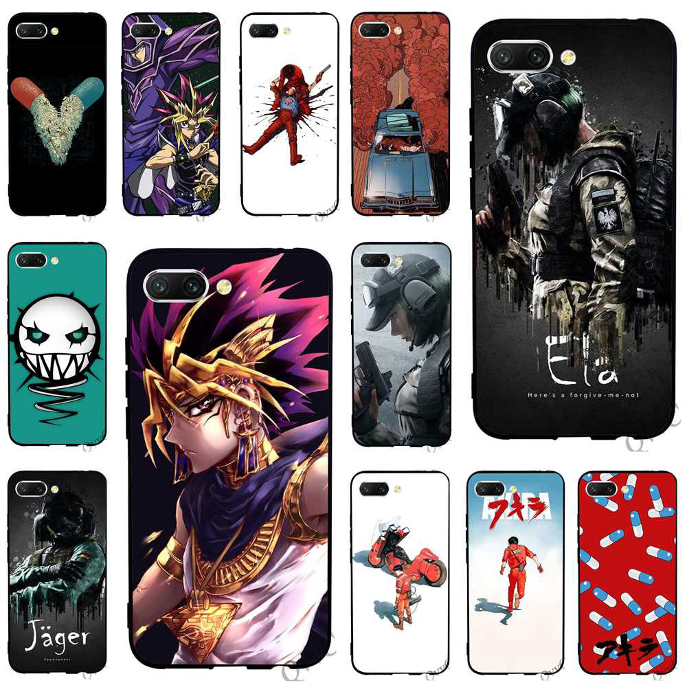 Pattern Akira Voltron Six Siege Yugioh Phone Cover For Huawei Honor 6a Case 10 8 9 Lite 7a Pro 7x 7c Y6 Prime Nova 3 3i Soft To Win Warm Praise From Customers Fitted Cases
