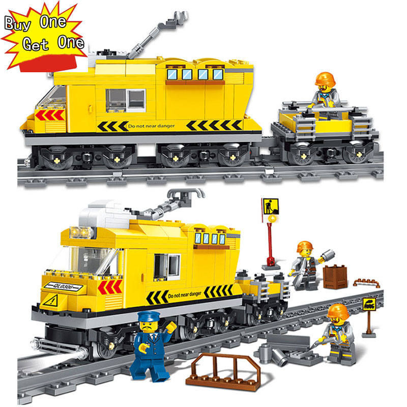 322pcs Boys Assembled City Series Gallop Train Train Track Children Puzzle Toys Legoed Soldiers Numbers Bricks Kids Toys