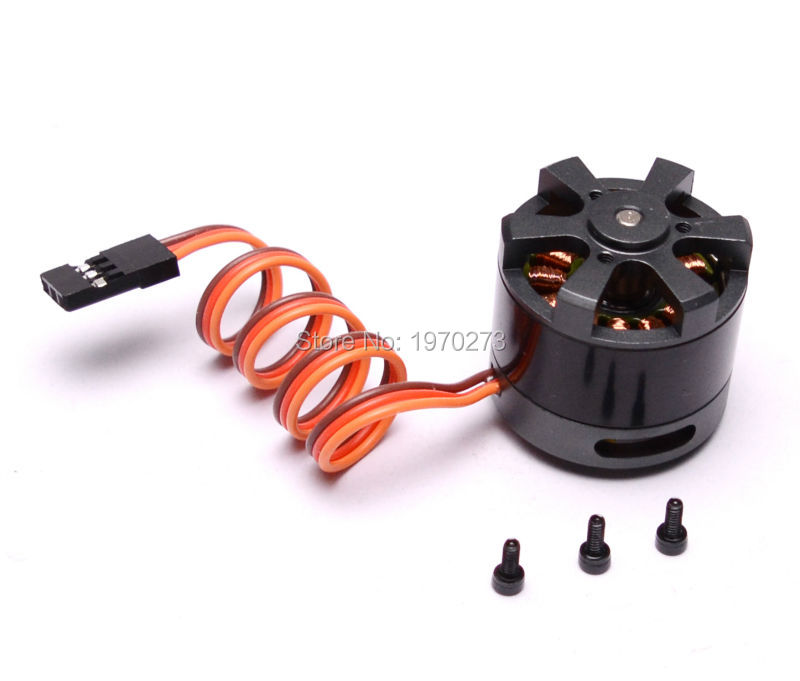 LD POWER 2208 <font><b>80kv</b></font> 39g 3mm shaft Gimbal <font><b>Brushless</b></font> <font><b>Motor</b></font> <font><b>80KV</b></font> for 100-200g GoPro frame image