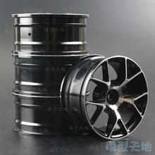 4pcs 1/10 On Road Drift Car 52MM Aluminum Alloy Metal Wheel Hub 1.9Inch Climb Car Wheel Rim For HSP Tamiya HPI Kyosho Sakura 103
