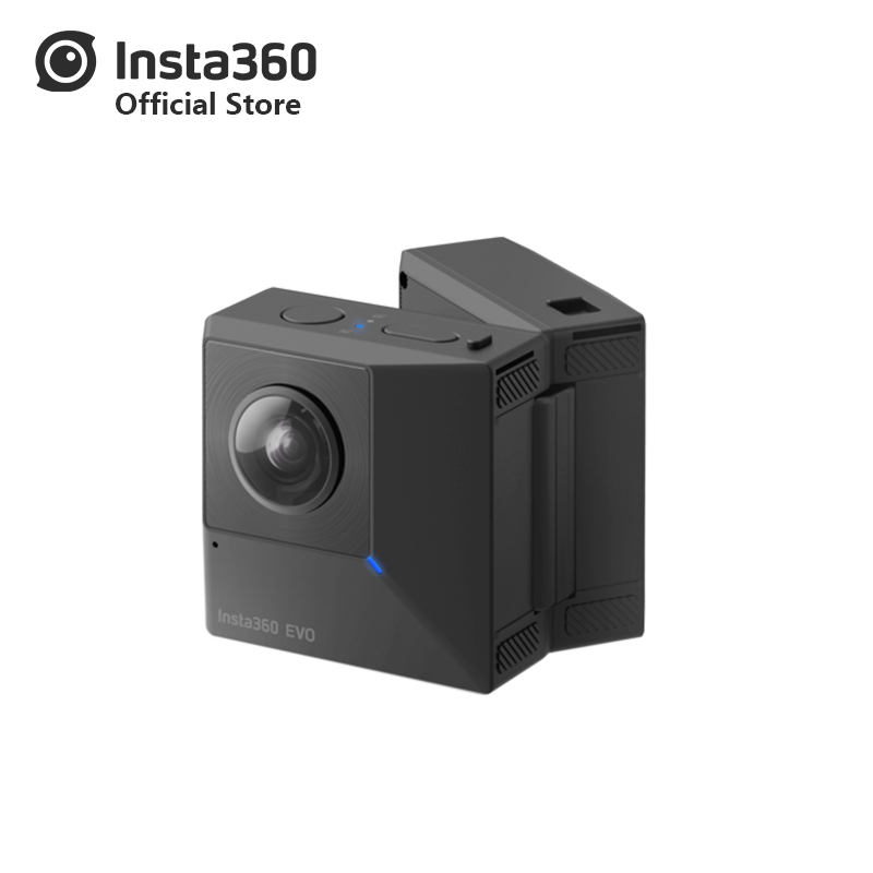 Insta360 EVO 5.7K Video 180 3D VR/Panoramic 360 Camera for Android and iPhone XS/Xs Max/XR/X/8/8 plus/7/7 plus/6s/6s plus
