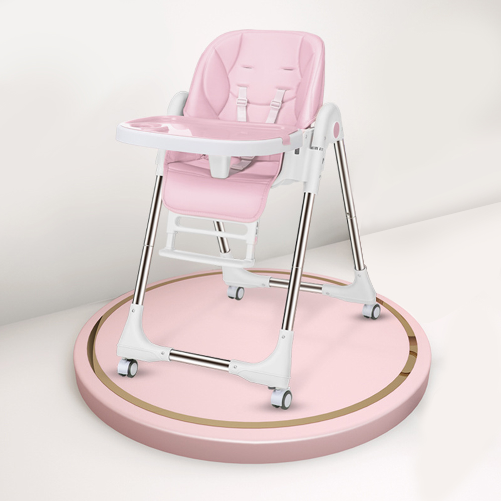 Folding High Chair For Feeding Adjustable Baby Chair Baby Seat  Breastfeeding Booster Seat Children Portable Dining Table Chairs
