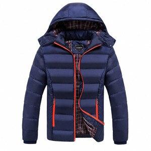 Image 4 - Faliza新メンズ冬のジャケット暖かい男性コートファッション厚い熱男性パーカーカジュアル男性ブランド服プラスサイズ 6XL SM MY G