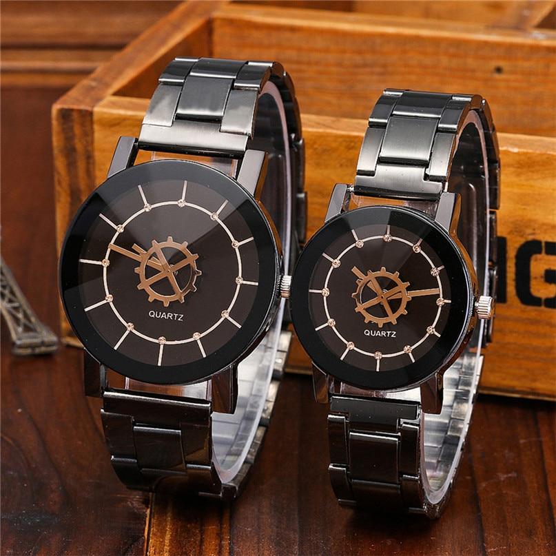 New Brand Mens Watches Top Brand Luxury Stainless Steel Wristwatch Mens Gift Quartz Watch Discount Relogio Masculino #4M24#F