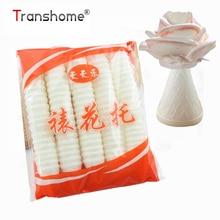 Transhome 100 Pcs/Pack Kitchen Glutinous Rice Cake Edible Baking Tools For Cakes Rose Flower Piping Dessert Decorators Tools
