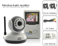 BabyKam 2.4 TFT Digital Wireless Baby Video Monitor with Camera IR Night Vision Voice Intercom Electronic Nanny Babysitter