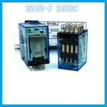 MY4NJ MY4N-J DC24V 3A OMRON  relay four open four closed 14 needle electronic component  solid state relays g2r 1 snd s dc24v 24vdc 10a omron relay one open one closed 5 needle electronic component solid state relays