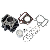 New Max Motosports Cylinder Piston Assembly Kit For Honda Z50 Z50R XR50 CRF50 50CC Dirt Bike