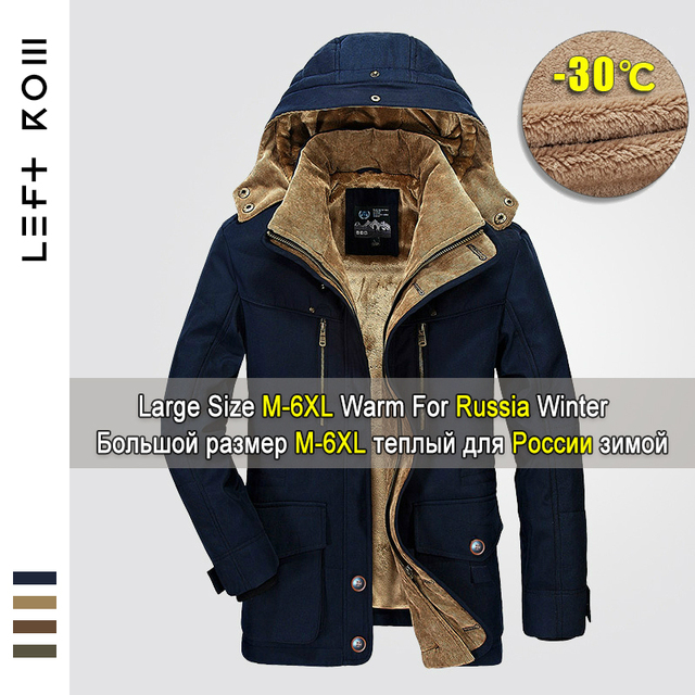 Special Offers 2018 Winter Jacket Men 5XL 6XL Warm Big Size Coat Thicken Windbreaker High Quality Fleece Cotton-Padded Parkas Military Overcoat