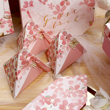 New Arrival Candy Box Wedding Favor Gift Bags The Cherry Blossom Style Boxes Baby Shower Party Favors