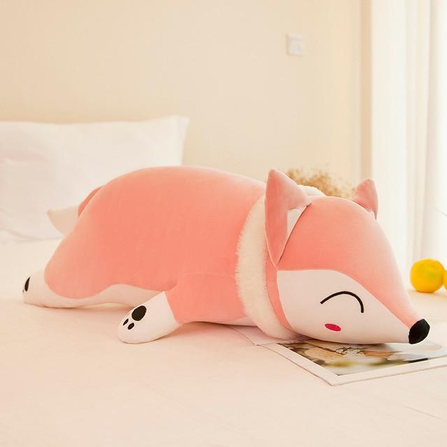 90/35cm Kawaii Dolls Stuffed Animals & Plush Toys for Girls Children Boys Toys Plush Pillow Fox Stuffed Animals Soft Toy
