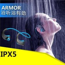 DACOM Armor водонепроницаемые наушники Bluetooth гарнитуры спортивные наушники анти-пот IPX5