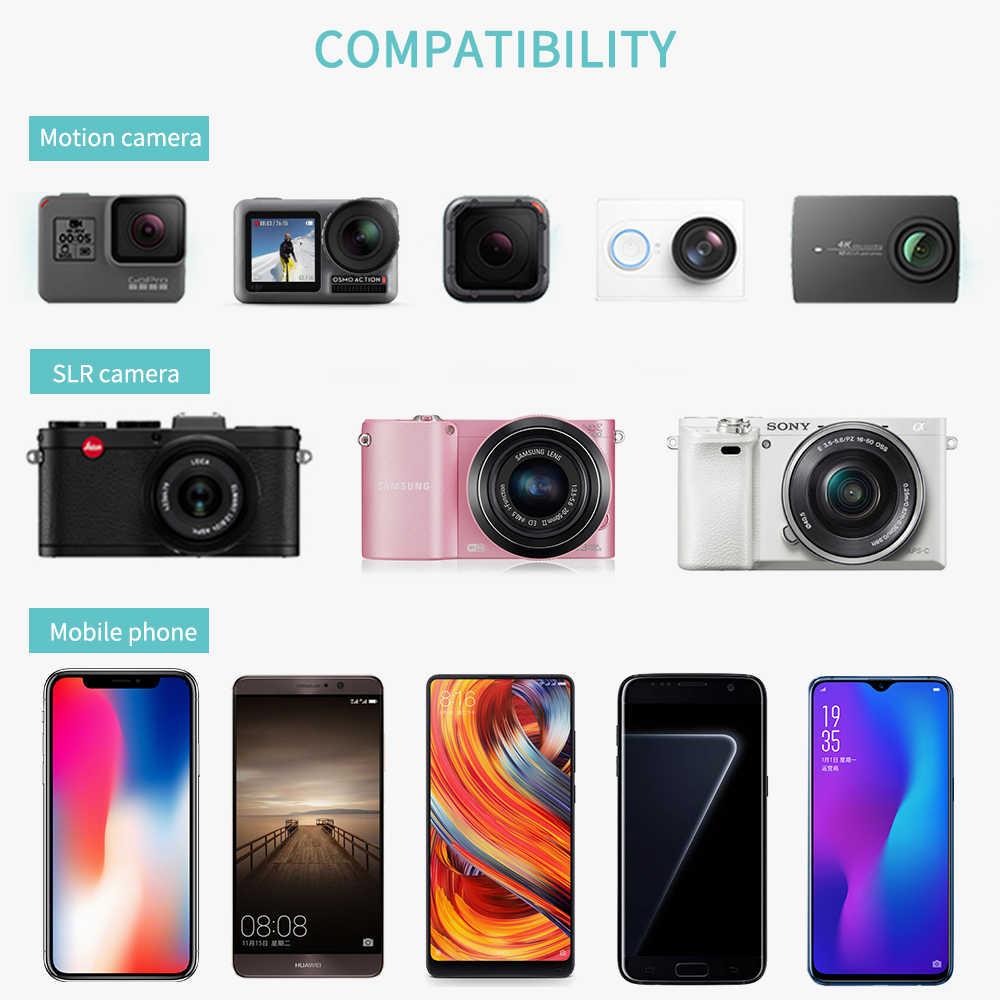Vamson Mini Tripod için Telefon Esnek Bacak Gorillapod Ahtapot Tripod Cep Telefonu kamera iphone Samsung için Xiaomi için VP414F