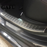 Car Styling For Toyota chr 2018 Door Sill Scuff Plate Guards Door Sills Protector Car Sticker Accessories 4pcs