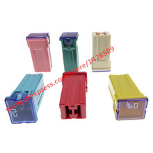 10 Pcs JT PEC Fuse Box Electrical Fuse For Buick Mazda Suzuki Chevrolet Ford BYD 20A 25A 30A 40A 50A 60A