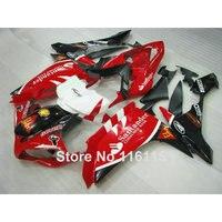 Injection molding hot ABS fairing kit for YAMAHA YZF R1 2007 2008 body kits YZF R1 07 08 black red Santander fairings set OX30