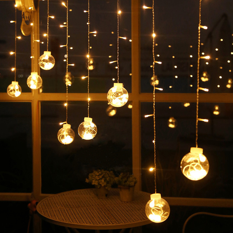 2 5m 108 led lights warm white fairy string light - Decorating with string lights indoors ...
