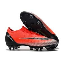 Низкий Топ AC Сталь шипы отличные футбольные бутсы VI 360 Elite CR7 сапоги XII PRO SG Неймар 2019 Обувь для футбола Chuteira Futebol