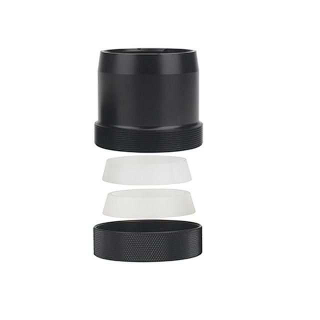 Conception originale 46mm installation rapide adaptateur baïonnette PARD NV007 Vision nocturne portée caméra installation rapide adaptateur de support de traîneau