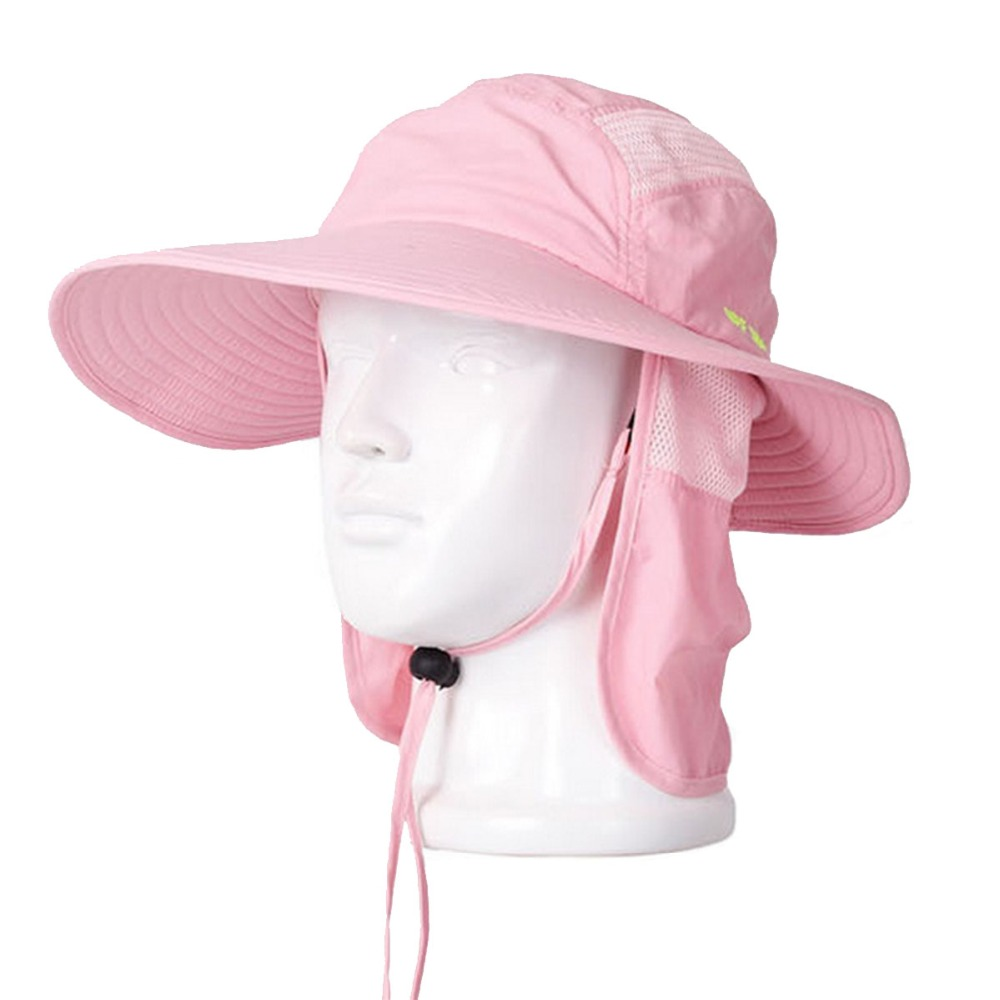 Adjustable Size Men Women Hats Bucket Fisherman Fishing Sunhat Caps Sunbonnet