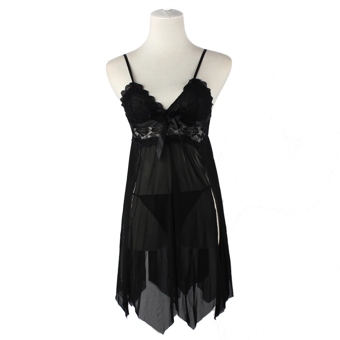 Exotic Apparel Sexy Lingerie Women's Underwear Babydoll Sleepwear Lace Dress G-string Nightwear Lenceria Erotica Mujer Baby Doll
