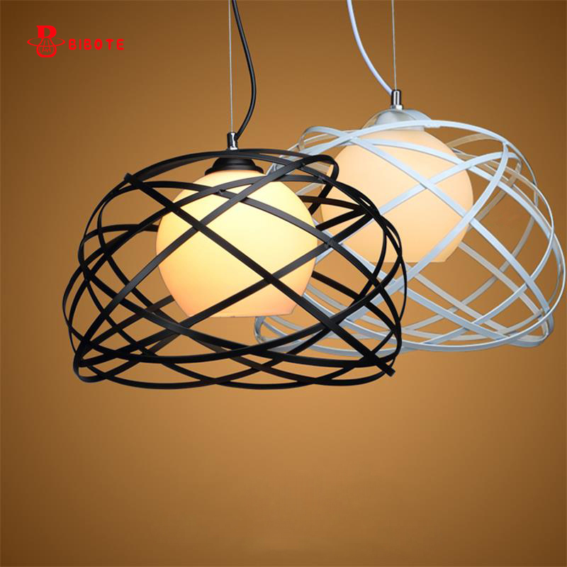 Modern Globe Glass Shade Pendant Lights For Dining Room Bar Restaurant Decorative with led bulb Hanging Pendant Lamp Fixtures modern pendant lights for restaurant glass bottle pendant lamp 1 3 5head bar dining room fashion plants hanging lamp