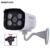 48 V PoE IP Camera 720 P 960 P 1080 P À Prova D' Água Ao Ar Livre 4 pcs LEDS Caixa De Metal IP66 bala Câmera IP ONVIF PoE câmera de cctv cabo