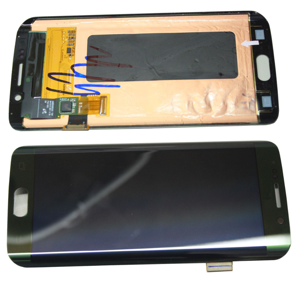 LCD Display Touch Screen Digitizer For Samsung Galaxy S6 Edge G925v G925A G925F replacement pantalla parts factory price lcd screen for samsung galaxy s6 edge lcd display touch screen digitizer g925f g925s g925p g925a free shipping