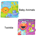 Animal Hippo lion Rainforest Early Education Multifunctional baby book Soft Play Goodnight 3D Washable Cloth Book kids gift