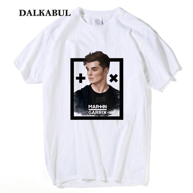afb316a3a Music DJ Martin Garrix tee Men 100% cotton t-shirt Women Fans Hip Hop Short  Sleeve T Shirt Plus Size 3XL