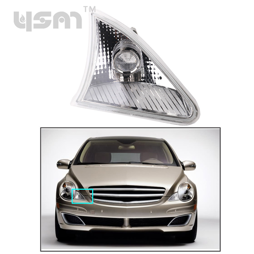 For Mercedes W251 R350 2006 2010 Position Light Front Parking Lamp NO Bulb Right R320 R350