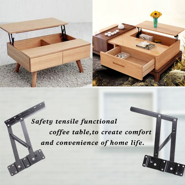 Lift Top Coffee Table Diy.Us 25 22 7 Off 1 X Set Lift Up Top Coffee Table Mechanism Diy Hardware Fitting Furniture Hinge Spring In Diy Craft Supplies From Home Garden On