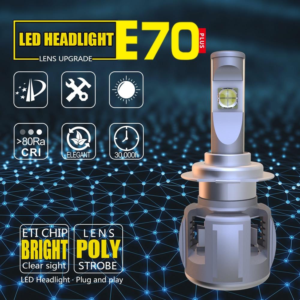 Auto Bulbs 60w H7 H4 H11 H1 H3 H13 9004 9005 9006 9007 HB4 HB3 LED bulb D1S D2S D3S D4S led headlight igora page 2