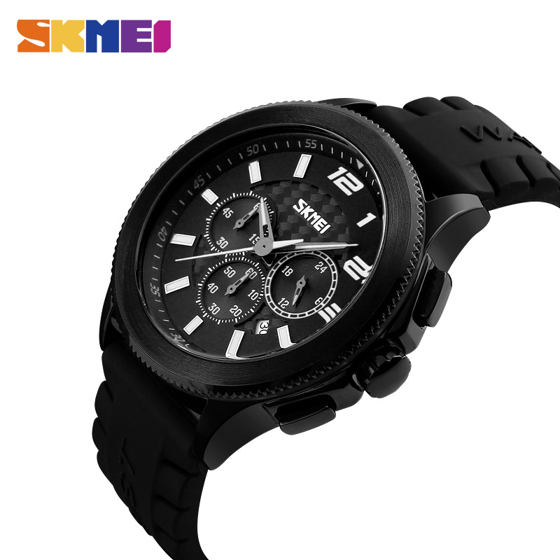 SKMEI Men Quartz Watches Multi-Function Fashion Watch Military Stopwatch Waterproof Sports Wristwatches Relogio Masculino 9136 2017 new top fashion time limited relogio masculino mans watches sale sport watch blacl waterproof case quartz man wristwatches
