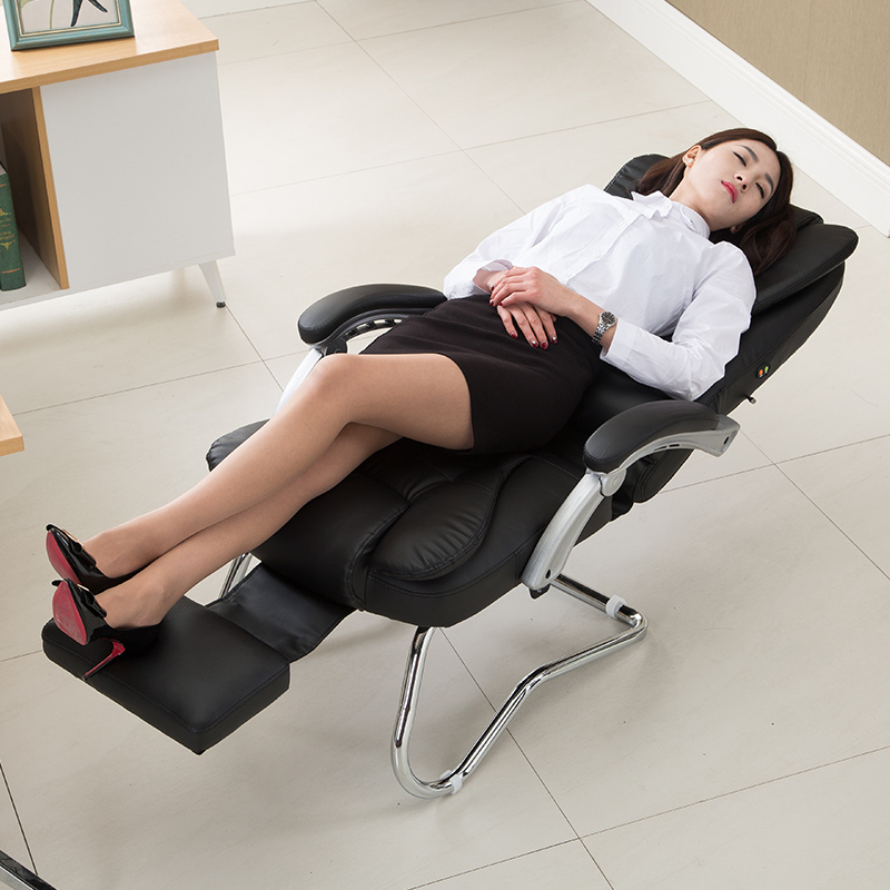 Arched Computer Chair Reclining Office Chair Comfortable Massage Meeting Chair Household Multifunctional Seat Adjust Handrail