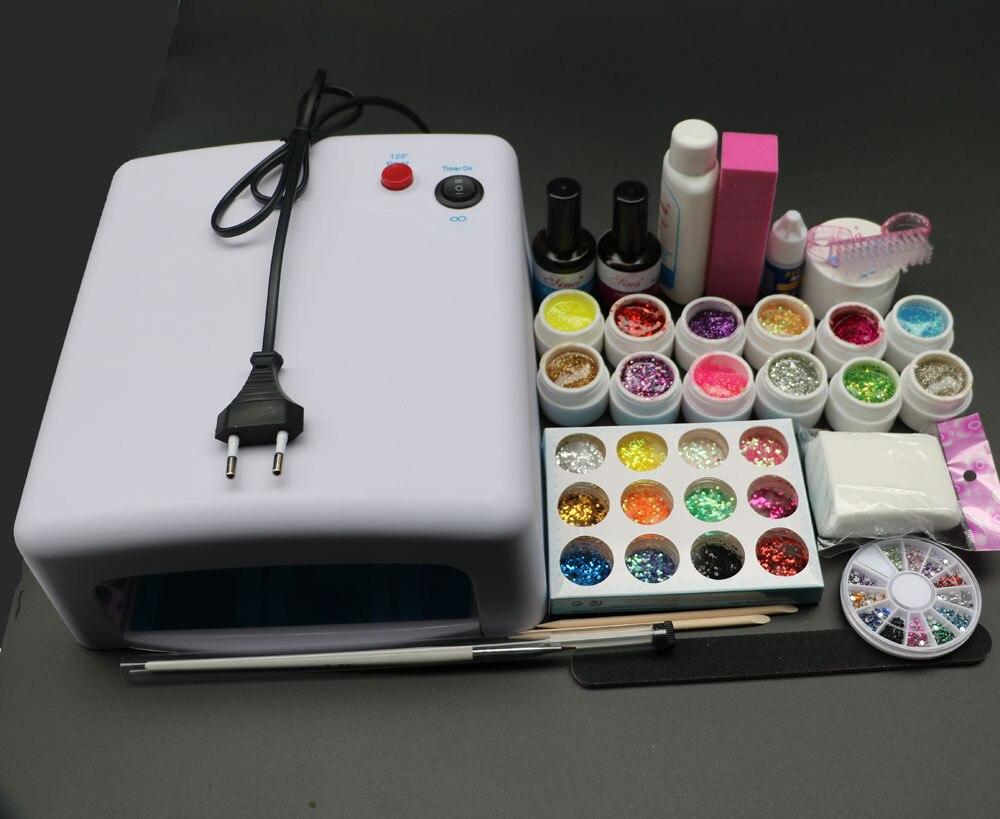 Жоғары сапалы Pro Full 36W White Cure Lamp - Маникюр - фото 1