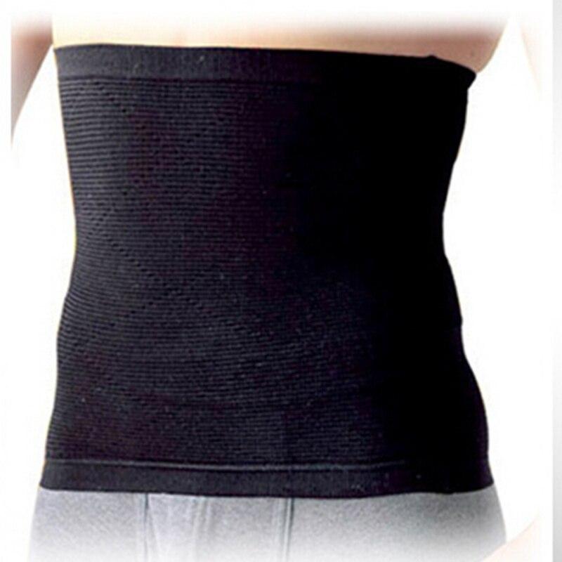 Men Body Slimming Abdomen Black Waist Shaper Girdle Belt Burn Fat Corset Bodysuit Masculino Underwear Hot