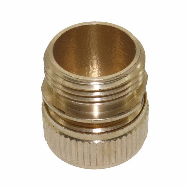 Online Shop Copper 3/4 inch external thread hose connector water ...