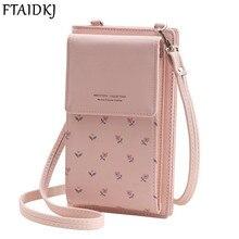 FTAIDKJ Universal Multifunction Women Wallet PU Leather Phone Bag Case