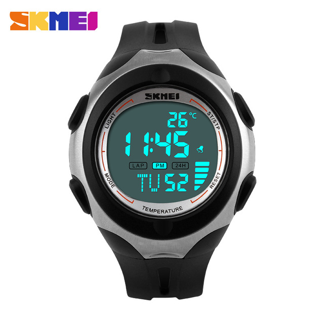 Skmei Brand Men And Women Sports Watches Fashion Digital Temperature Military Multifunction Watch Fashion Relogios Masculinos