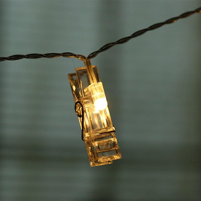 Dritat e Dekorimit të Fotove të Dritave të Kartave DIY Dritat e - Ndriçimi i pushimeve - Foto 6