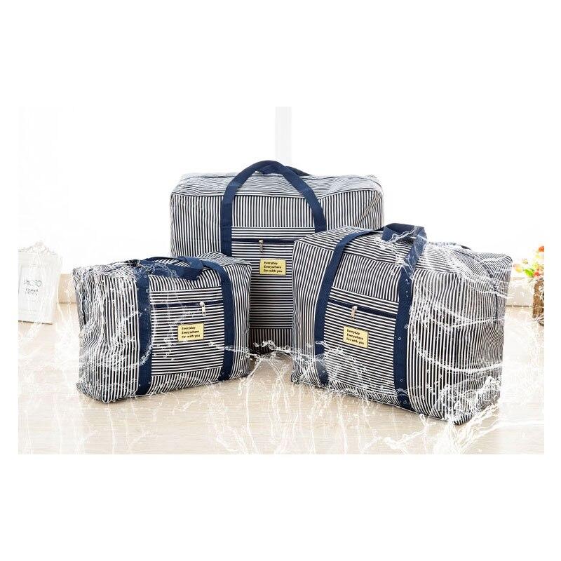 1 Stücke Oxford Wasserdichte Reise Gepäck Handtaschen Große Kapazität Tragbare Business Kleidung Organizer Reise Trolley Taschen