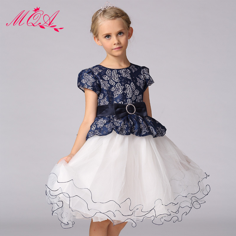 Buy new summer diamond silk bow girl for Summer dresses for wedding party