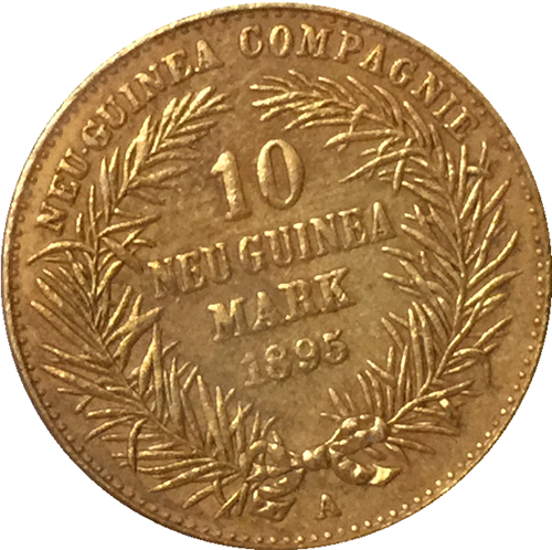 24-K Gold plated  1894 Germany 10 Marks Coin COPY FREE SHIPPING