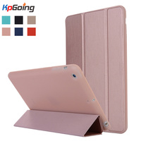 Case For IPad Mini 1 2 3 Tri Fold TPU Silicone Cover Candy Color Ultra Slim